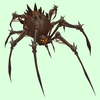 Dark Brown Bone Spider