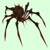 Black Bone Spider