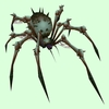 Dark Grey Bone Spider