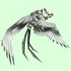 Ghostly White Two-Headed Vulture