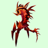 Dark Orange & Crimson Dire Ravager