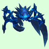 Electric Blue Spiked Crab