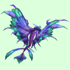 Purple & Cyan Dragonhawk