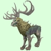 Pale Wicker Stag