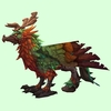 Green & Orange Hippogryph
