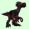 Black & Red Falcosaur