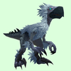 Silver & Grey Falcosaur