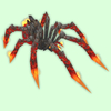 Red Fire Spider
