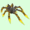 Yellow Fire Spider