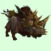 Armored Brown Draenor Boar