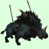 Wounded Black Draenor Boar