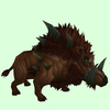 Brown Draenor Boar