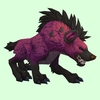Purple Hyena