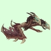 Red-Brown Death Chimaera w/ Horns