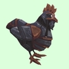 Brown & Black Mechanical Chicken