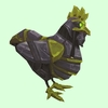 Green & Black Mechanical Chicken