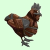 Brown & Grey Mechanical Chicken