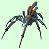 Grey-Bronze Mechanical Spider