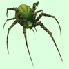 Dark Green Spider