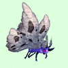Purple Moth w/ Grey Wings