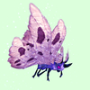 Purple Moth w/ Pink Wings