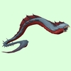 Grey & Red Aqir Serpent