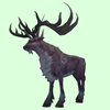 Patterned Puce Stag