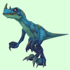 Blue Draenor Raptor