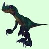 Dark Green Draenor Raptor