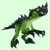Green Spiked Raptor