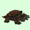 Brown Dragon Turtle
