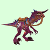 Saddled Purple Raptor
