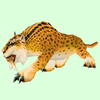 Yellow Spotted Saber Cat