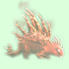 Red Spectral Porcupine