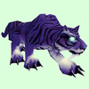 Glowing Purple Cat