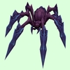 Purple Demon Spider