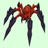 Red Demon Spider
