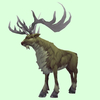 Green-Brown Stag