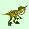 Saddled Glossy Green Raptor