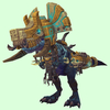 Blue Devilsaur w/ Gold & Pale Armour