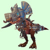 Bronze Devilsaur w/ Grey & Bronze Armour
