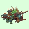 Armoured Bright Green Direhorn