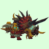 Armored Red Direhorn